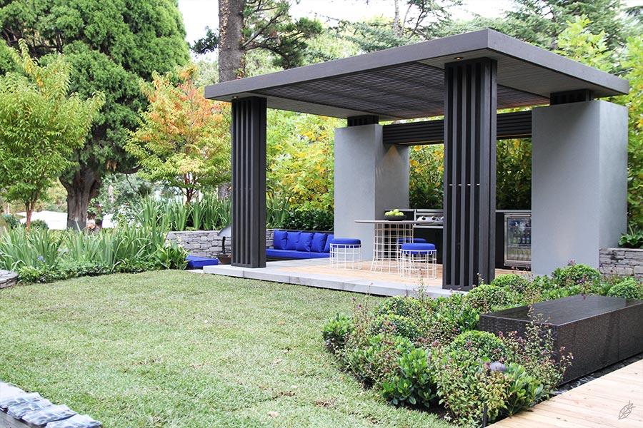 Floral girl melbourne international flower garden show for Cycas landscape design